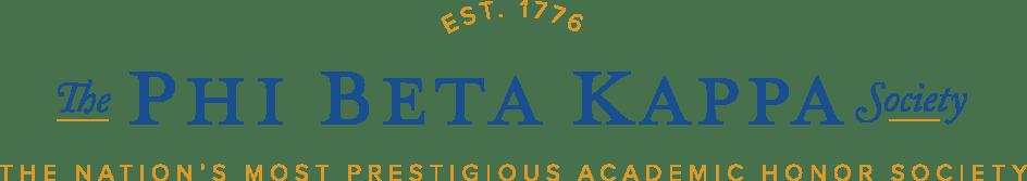 Phi Beta Kappa Honor Society